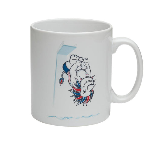 Team GB Pride Mascot Diving Mug
