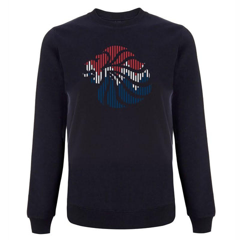 Team GB Lion Colour Logo Sweatshirt Women's