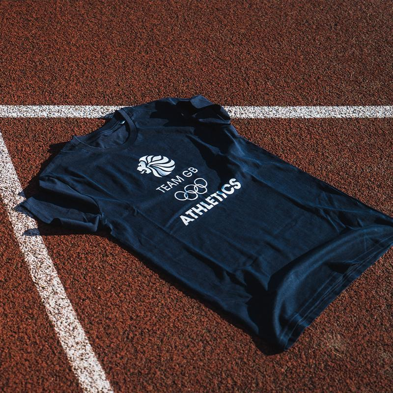 Team GB Athletics Classic T-Shirt | Team GB Official Store