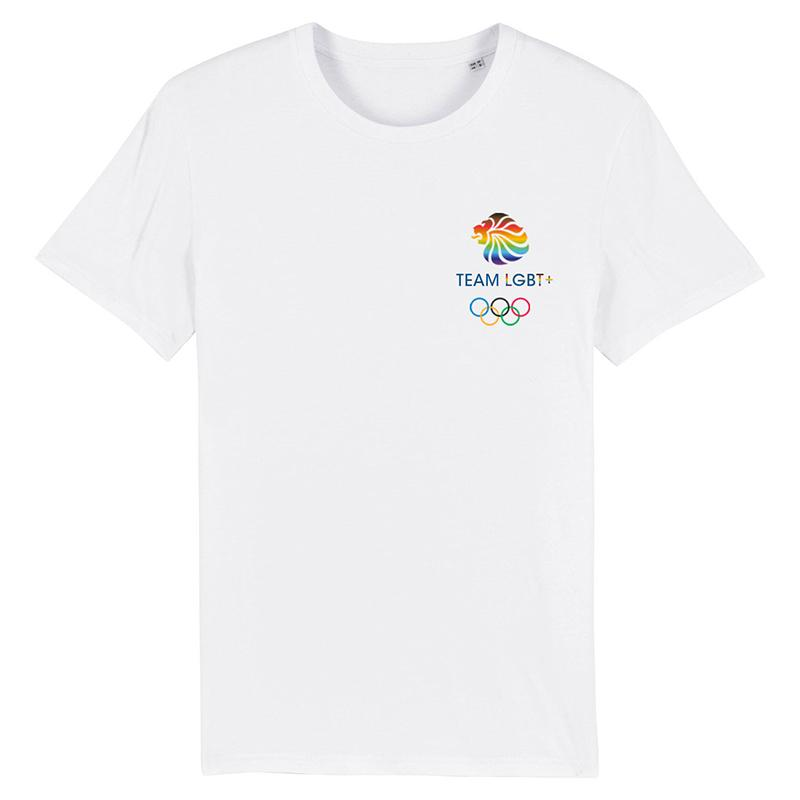Team LGBT+ Logo T-Shirt | Team GB Official Store