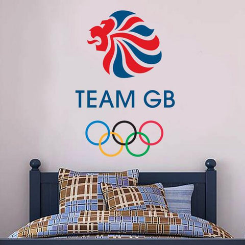 Team GB Logo Wall Sticker