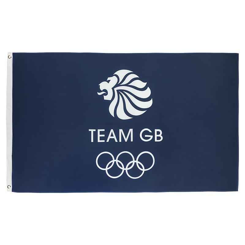 Team GB Large Supporters Flag