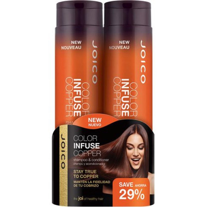 Joico Color Infuse Copper Shampoo & Conditioner Duo Pack