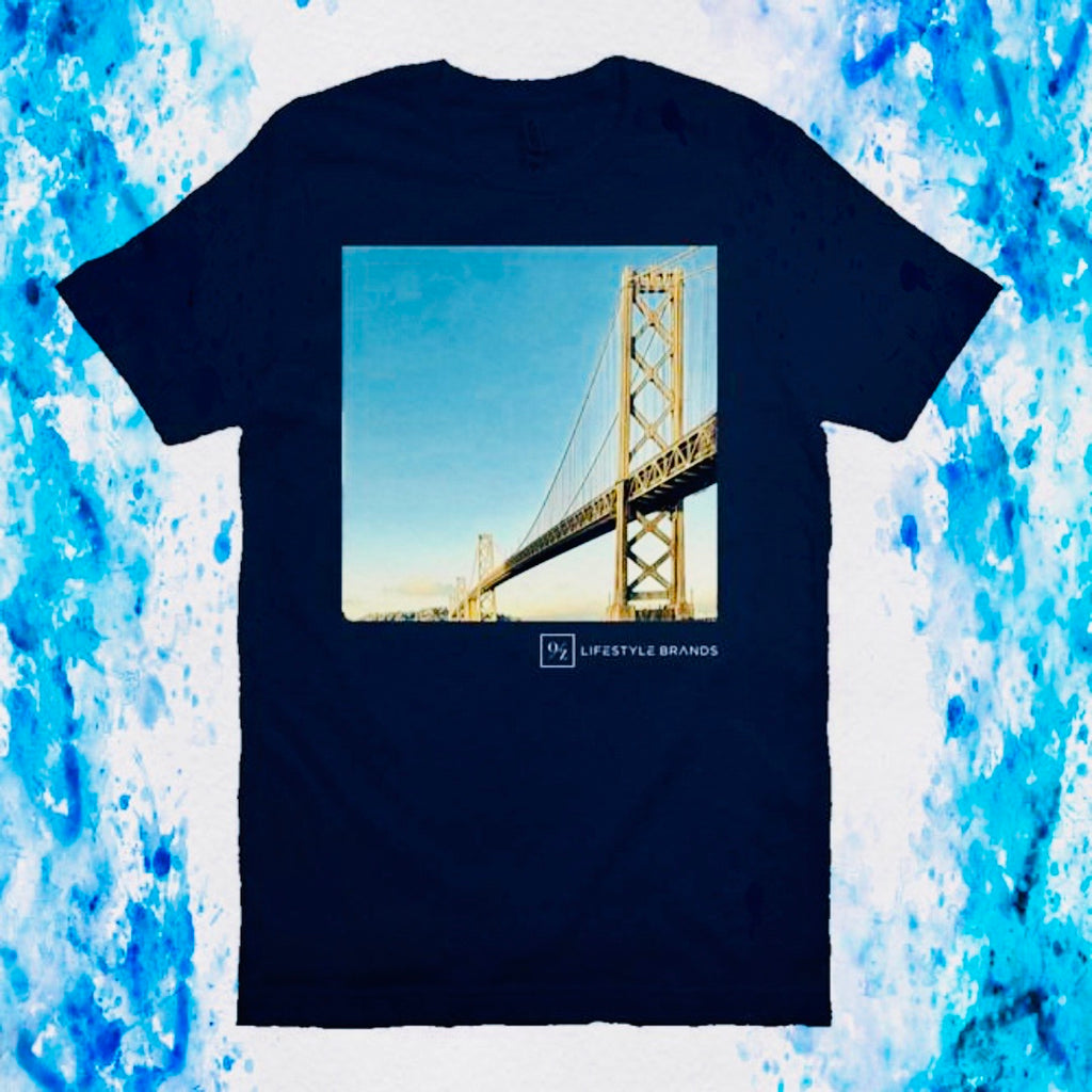 Bay Bridge T Shirt