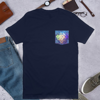 León Mosaic Pocket T Shirt