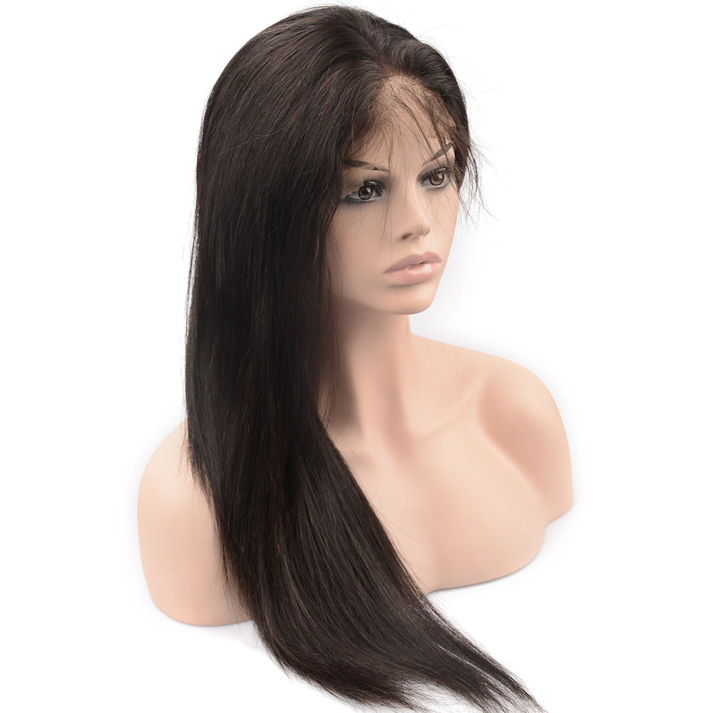 Raw Hair Company Straight Lace 4x4 Closure Wig