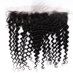 Raw Hair Company Deep Wave 13x4 Frontal