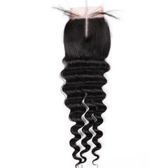 Raw Hair Company Loose Deep Wave 4x4 Closure