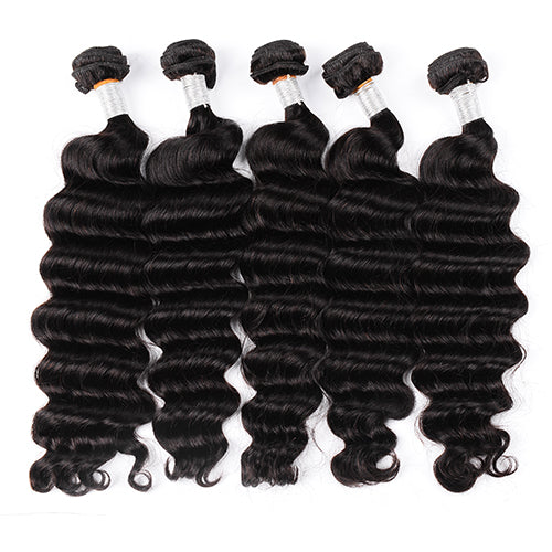 Raw Hair Company Loose Deep Wave Bundles