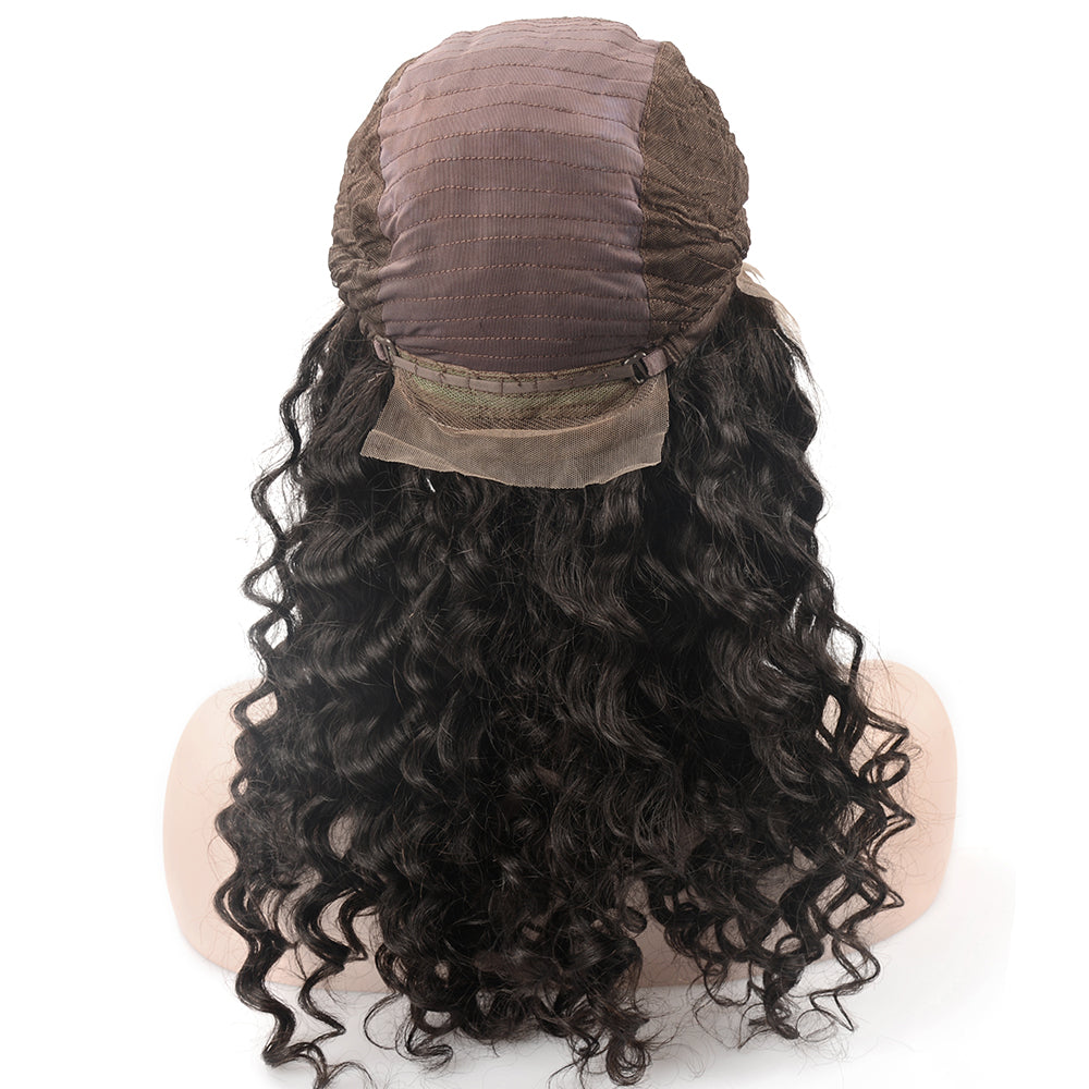 Raw Hair Company Loose Deep Wave 13x4 Lace Front Wig