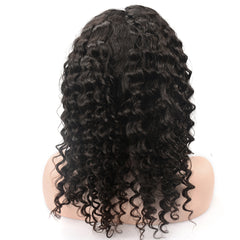 Raw Hair Company Deep Wave 13x4 Lace Front Wig