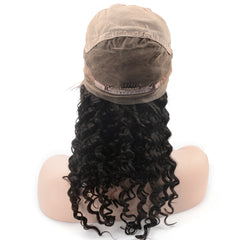 Raw Hair Company Deep Wave Full Lace Wig