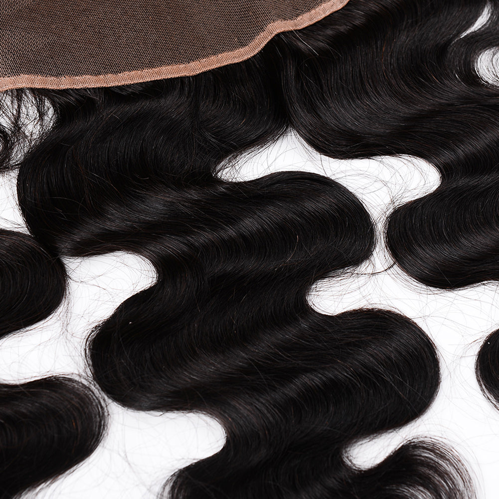 Raw Hair Company Body Wave 13x4 Frontal
