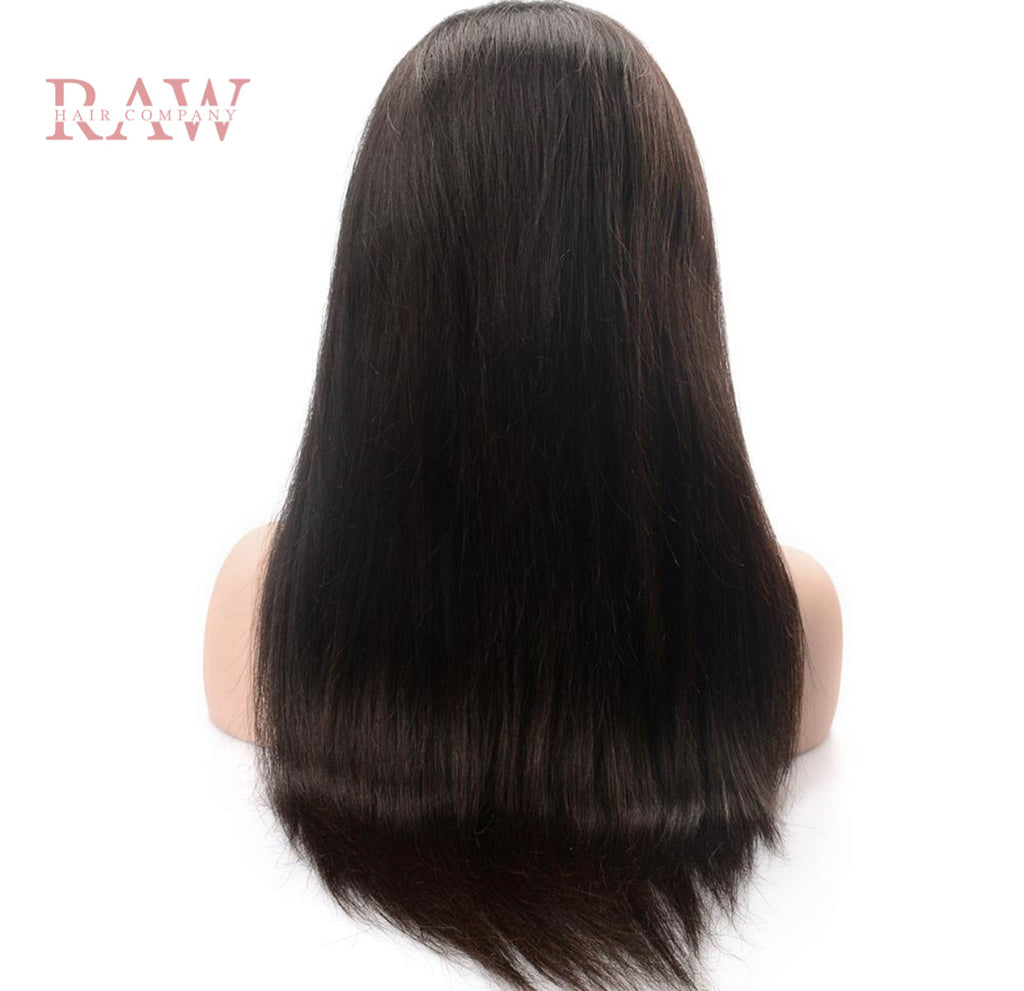 Raw Hair Company Straight 13x4  Lace Front Wig