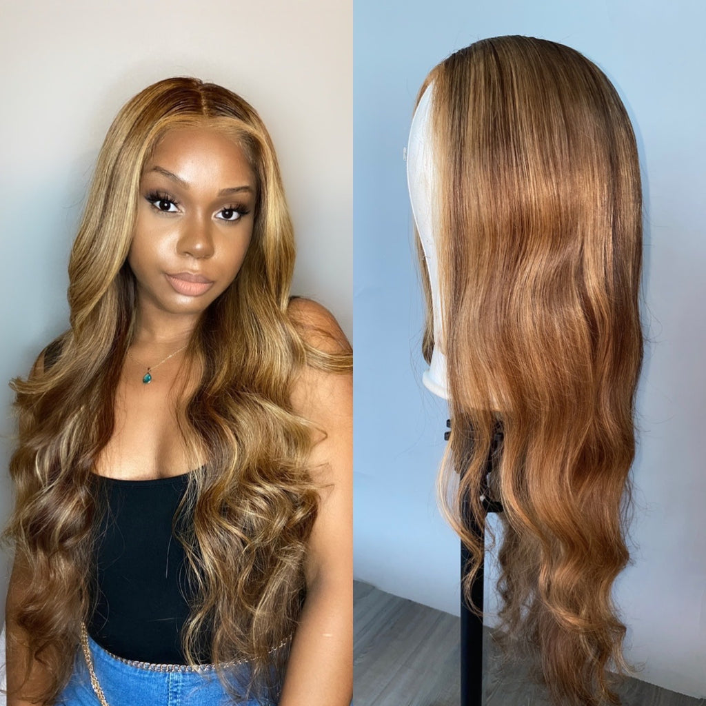 Raw Hair Company Body Wave 13x4 Lace Front Wig