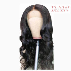Raw Hair Company Body Wave 4x4 Lace Closure Wig
