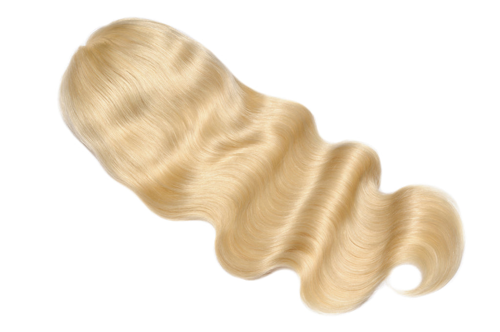 Raw Hair Company Body Wave 13x4 Blonde Lace Front Wig