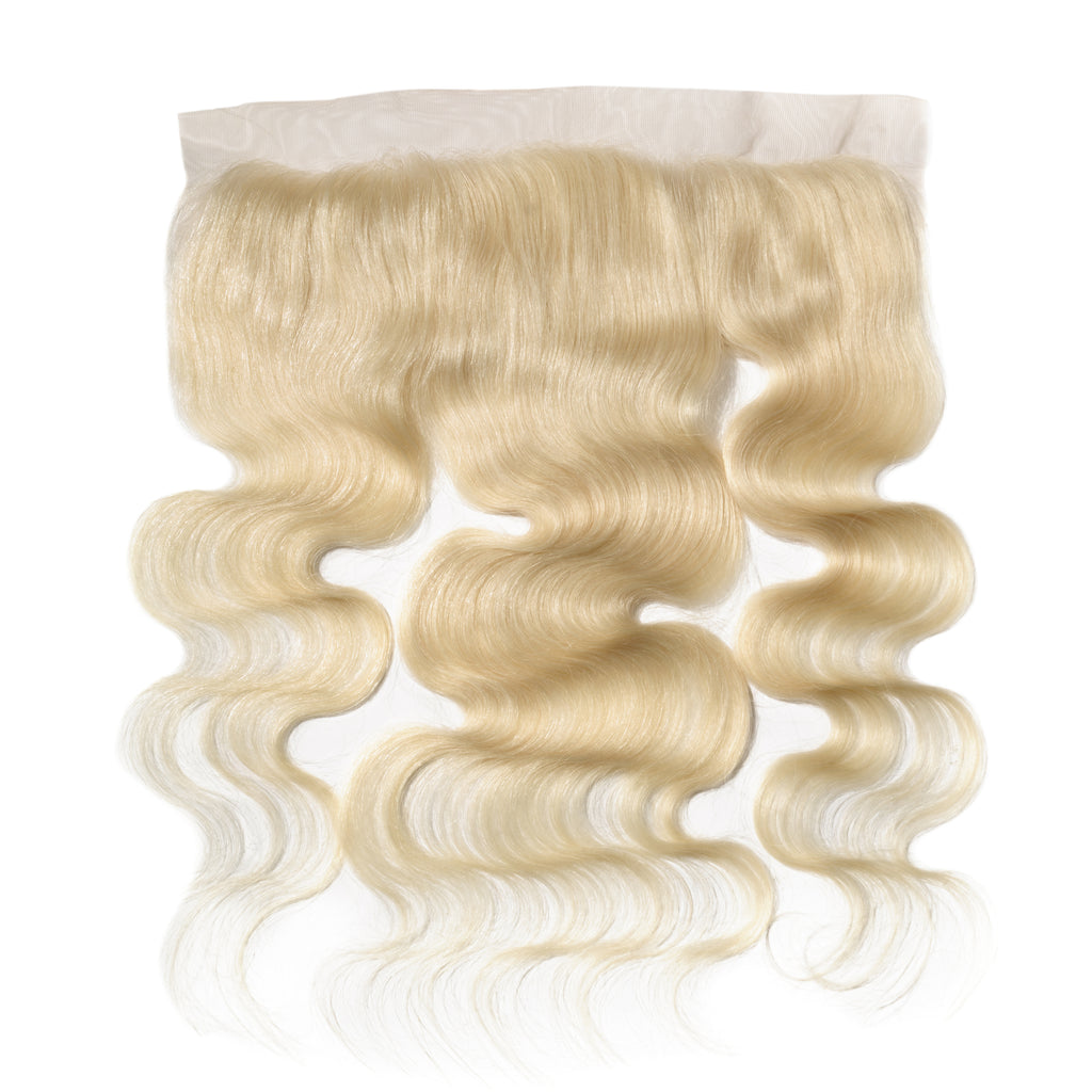 Raw Hair Company Body Wave 13X4 Blonde Lace Frontal