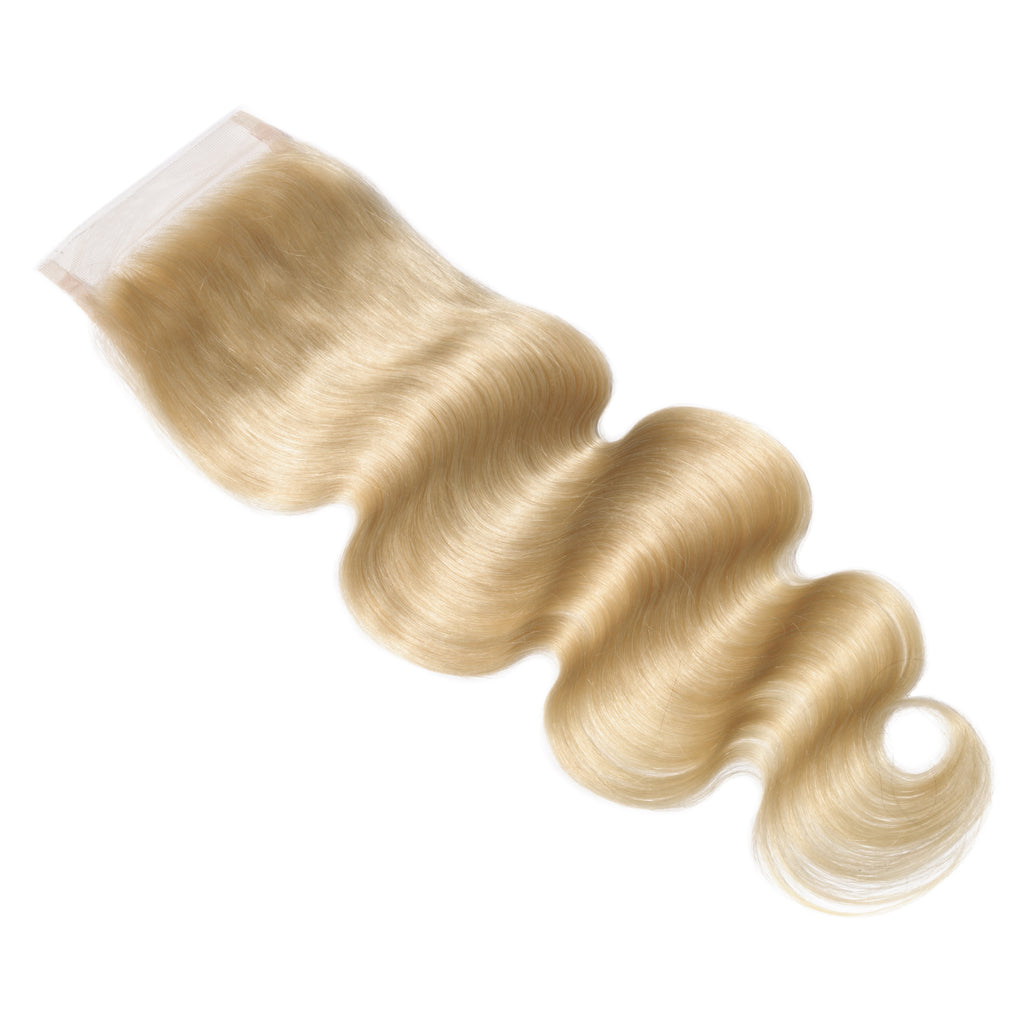 Raw Hair Company Body Wave 4x4 Blonde Closure