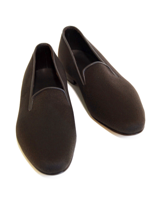 Real Cashmere Loafer - Brown
