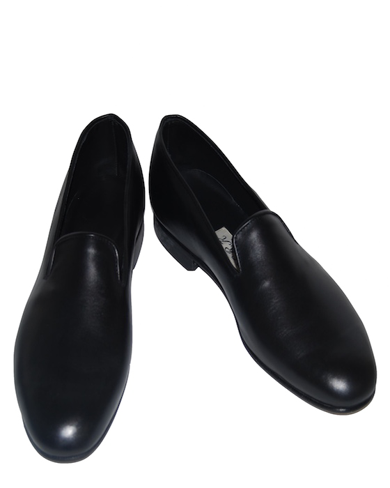 Leather Loafer - Black Leather
