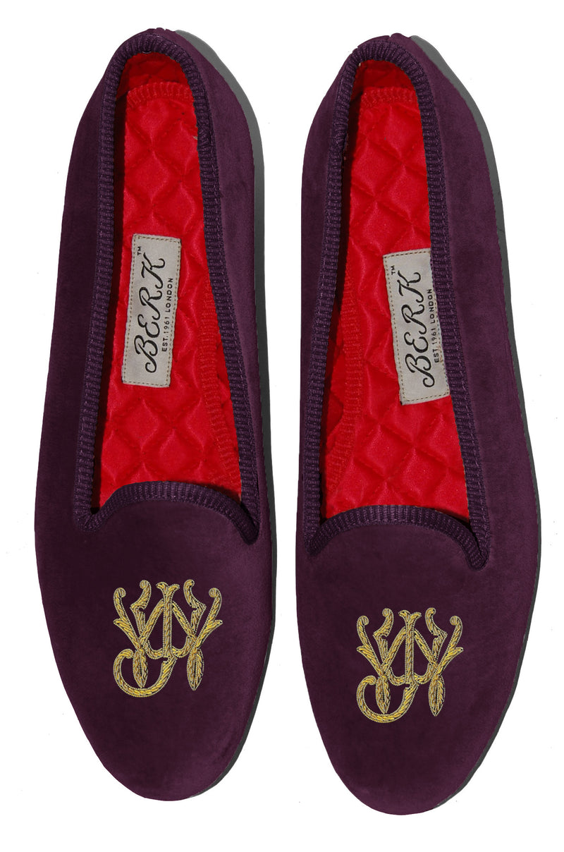 Bespoke Monogram Slippers