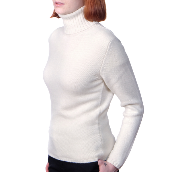 Aberon Roll Neck - Berk 3 Ply