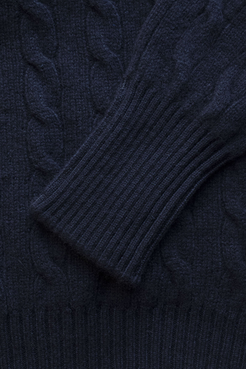 BERK-Cable Crew Neck 2 Ply