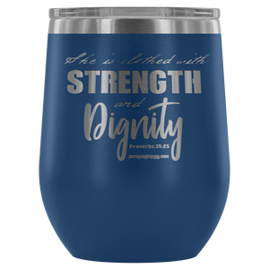 Proverbs 31 Tumbler - Peculiar Display
