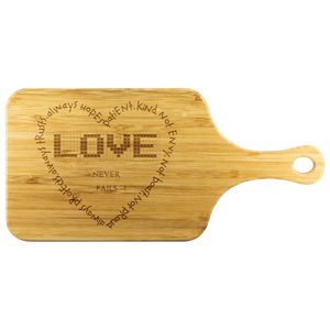 Love Cutting Board w/Handle - Peculiar Display