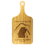 My House Cutting Board w/Handle - Peculiar Display