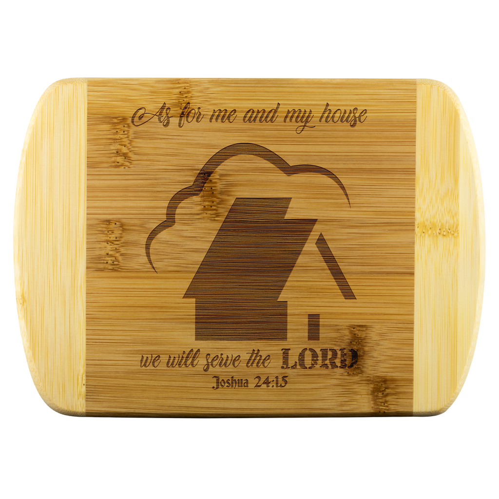 My House Round Edge Cutting Board - Peculiar Display