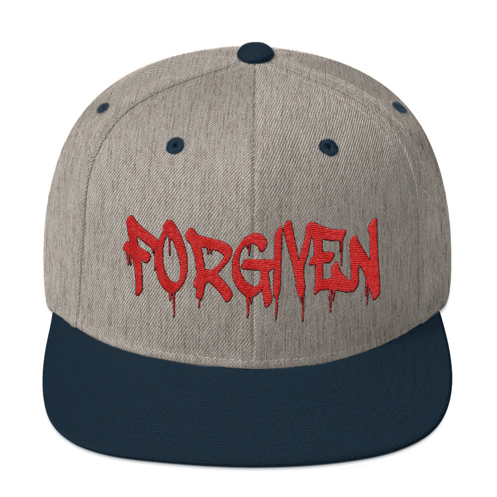 Forgiven Snapback Hat - Peculiar Display