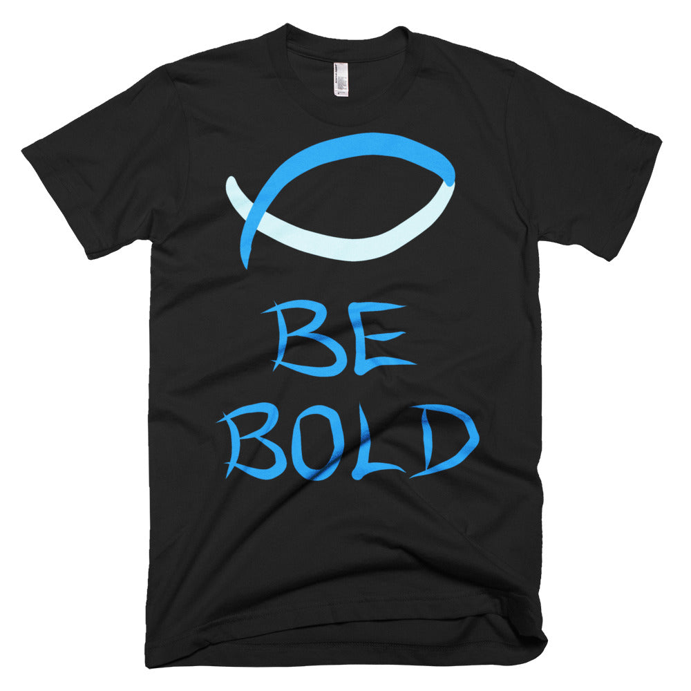Blue Be Bold Short-Sleeve T-Shirt - Peculiar Display