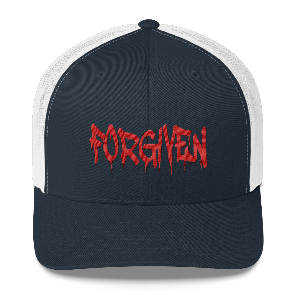 Forgiven Trucker Hat - Peculiar Display