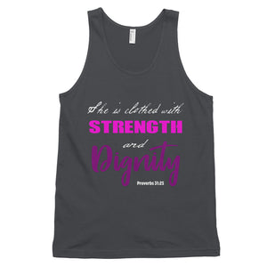 Proverbs 31 Classic tank top - Peculiar Display