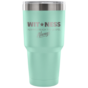 Witness Tumbler - Peculiar Display