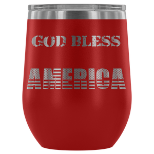 God Bless America Tumbler - Peculiar Display