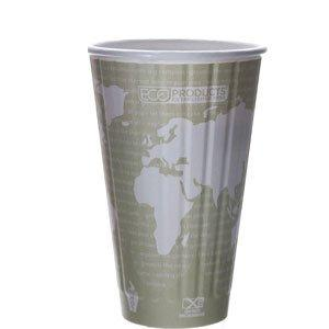 16oz Insulated Hot Cups World Art