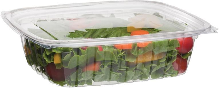 24oz Rectangular Deli Containers - Food Loops