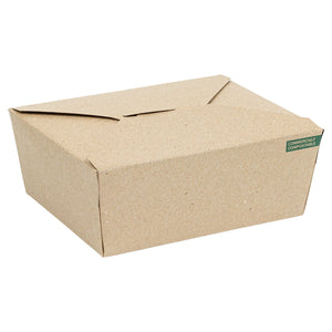 #8 Innobox 6x4.75x2.5 Kraft Food Carton