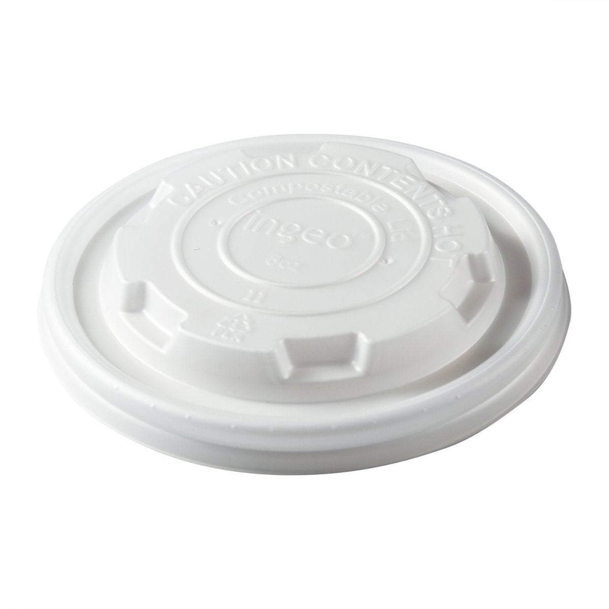 8oz CPLA Food Container Lid