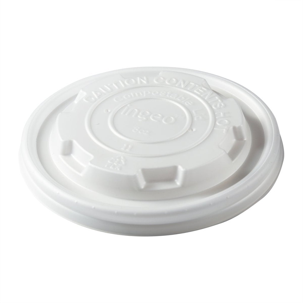 8oz CPLA Food Container Lid - Food Loops