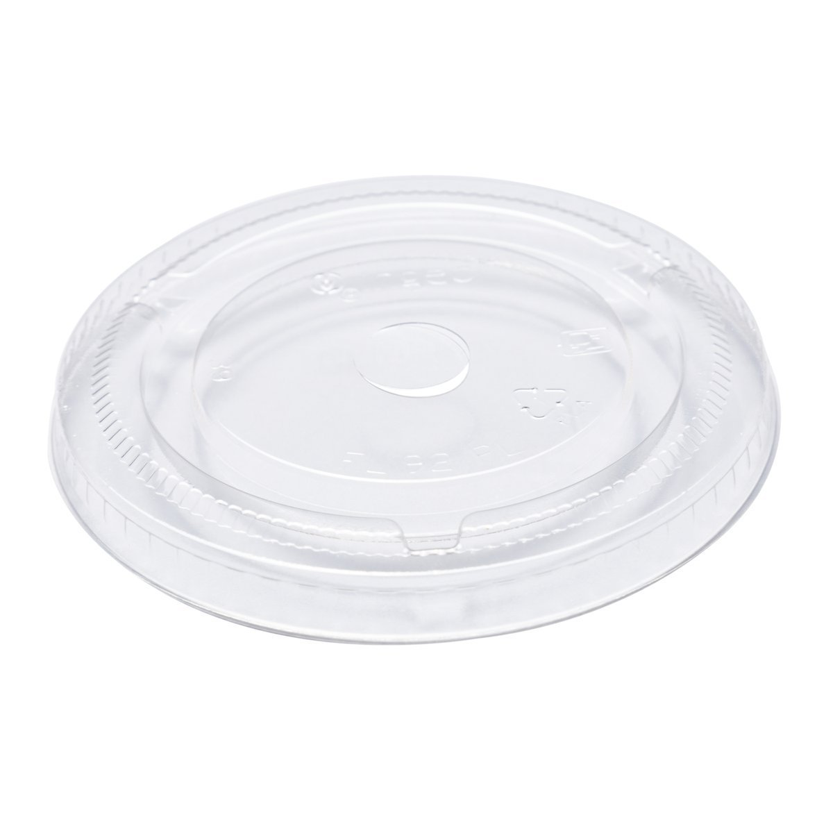 9oz Clear Cold Cup PLA Flat Lid