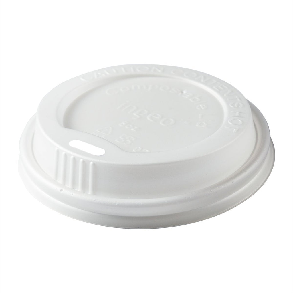 8oz CPLA Hot Cup Lid