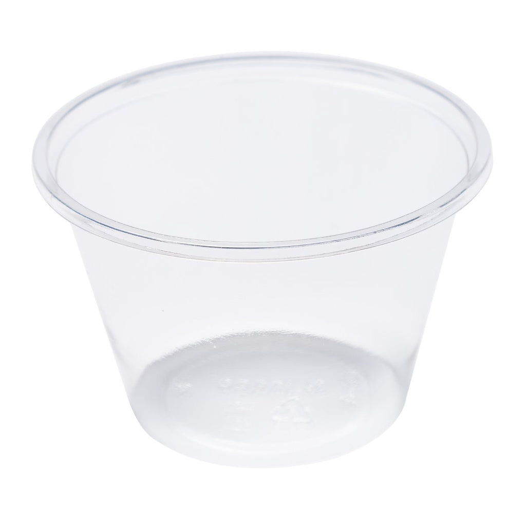 4oz Clear PLA Portion Cup