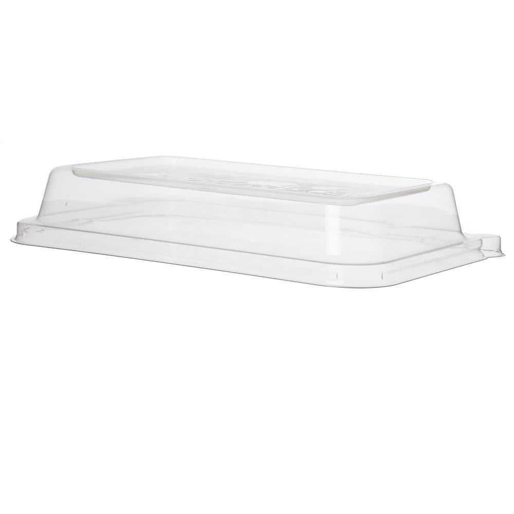 24 - 32oz Lid Rectangle Sugarcane Take-Out Containers WorldView