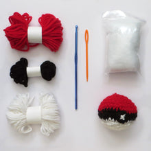 Pokeball Crochet Kit (Including Video Tutorial)