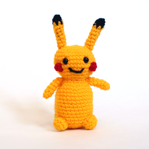"Pikachu Crochet 6"" tall"
