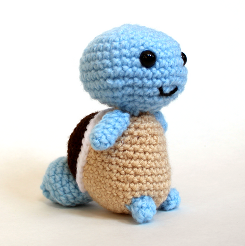 Squirtle Crochet 6